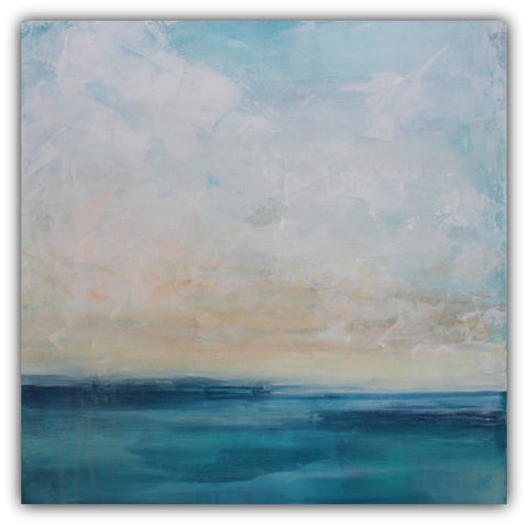 Cloud Piers - Seascape Painting