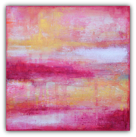 Sherbet - Modern Texture Abstract Painting