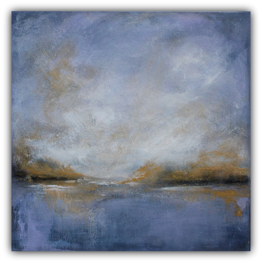 "Contemporary Landscape Painting ""Hope"" - The Modern Home Co. by Liz Moran"