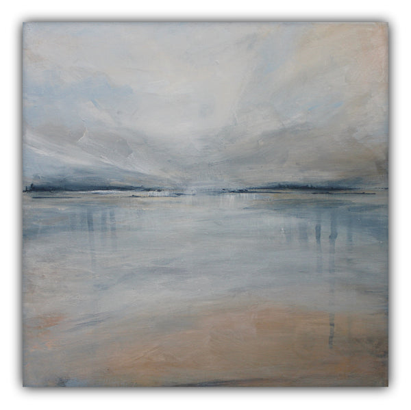 "Beach Painting Abstract ""Beach I"" - The Modern Home Co. by Liz Moran"