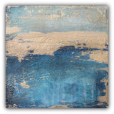 Moonstone - Navy Abstract Painting - The Modern Home Co. by Liz Moran