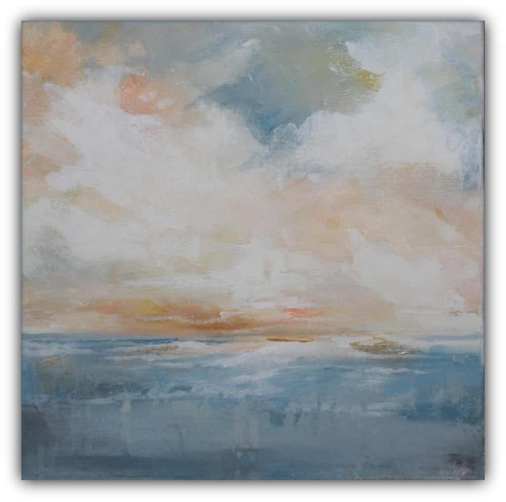 "Modern Landscape Painting ""Landscape III"" - The Modern Home Co. by Liz Moran"