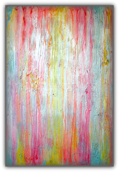 Jawbreaker - White Abstract Painting - Texture Art - Modern Wall Art - The Modern Home Co. by Liz Moran