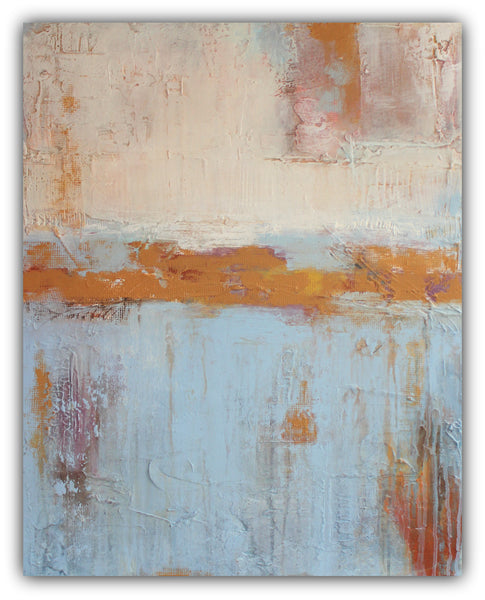 "Abstract Textured Painting ""Raw Revival"" - The Modern Home Co. by Liz Moran"