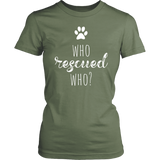 Rescue_who?_womens - The Modern Home Co. by Liz Moran