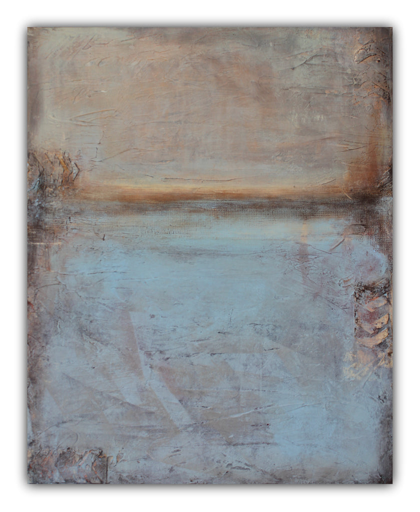 Recollections - Texture Abstract Painting - SOLD