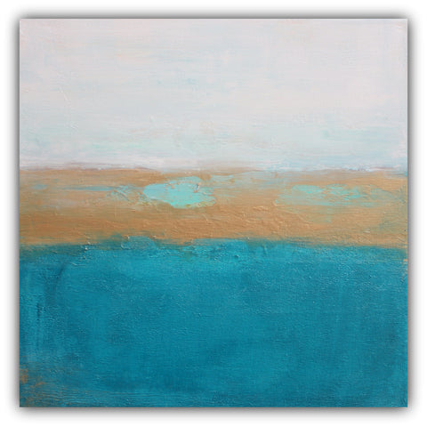 Underwater - Coastal Abstract Painting