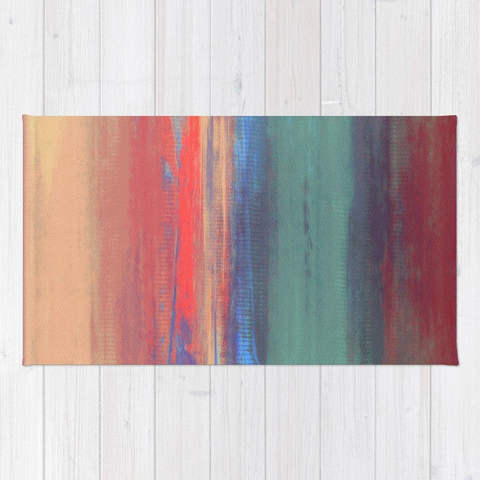 Afternoon Sky - Pastel Area Rug - The Modern Home Co. by Liz Moran
