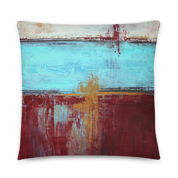 Patriotic - Red, White and Blue Pillow