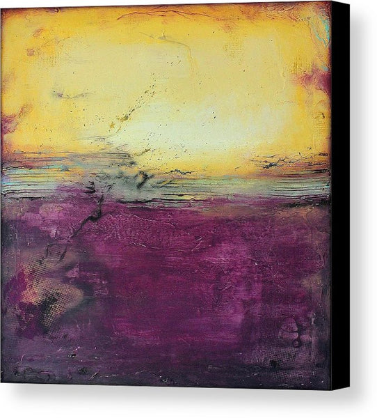 Purple Wall Art - Canvas Print - Square Art