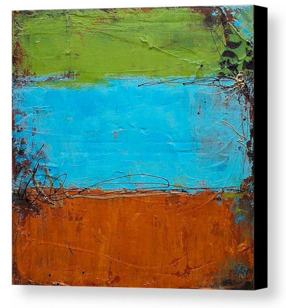 Rusted Graffiti - Canvas Art Print