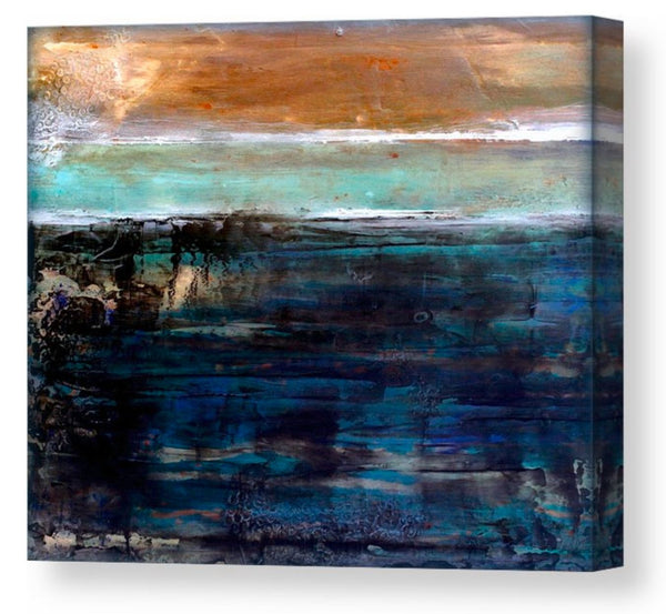 East Coast - Canvas Art Print - The Modern Home Co. by Liz Moran