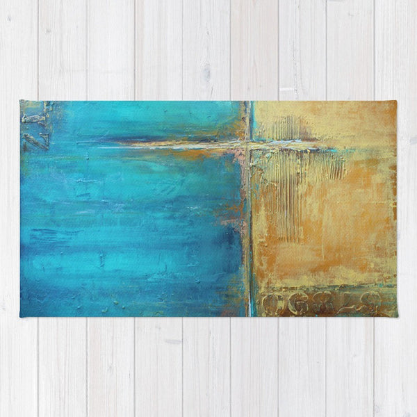 Caribbean Cargo - Tropical Area Rug - The Modern Home Co. by Liz Moran