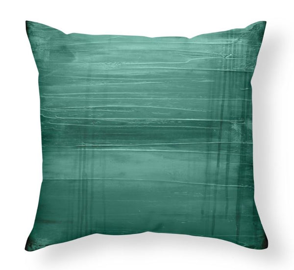 Lagoon - Teal Floor Pillow - The Modern Home Co. by Liz Moran