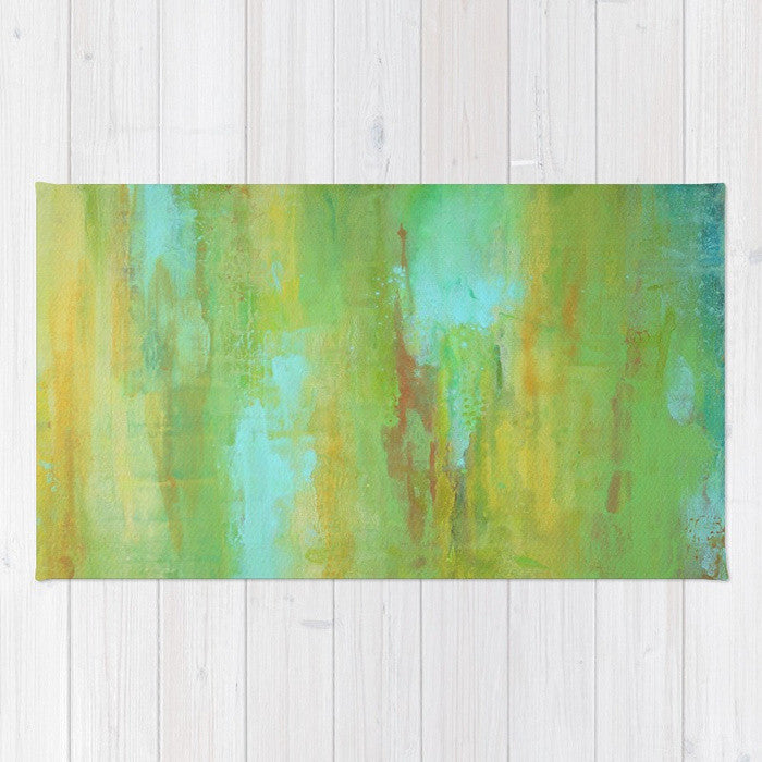 Lime - Green Area Rug - The Modern Home Co. by Liz Moran