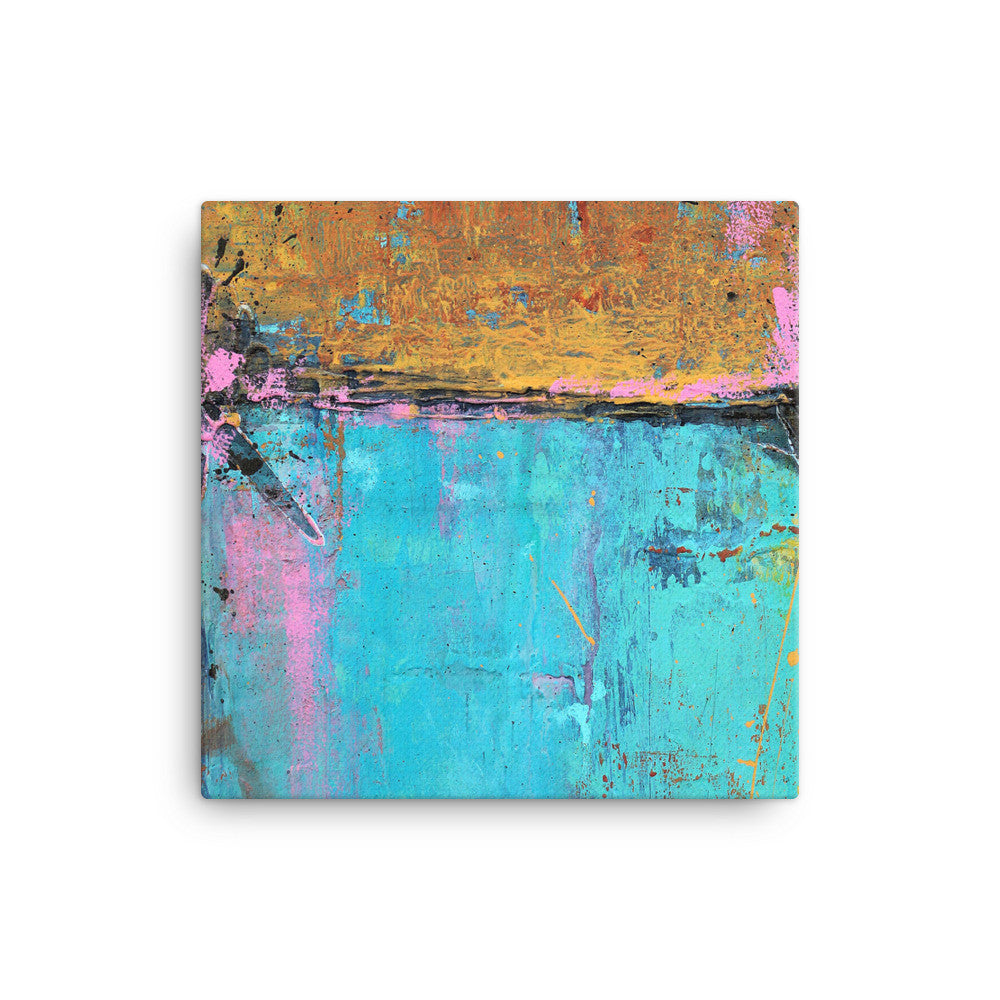 Montego Bay - Wrapped Canvas Print - The Modern Home Co. by Liz Moran