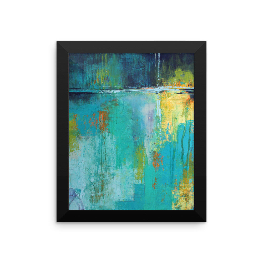 Tranquil Nights - Framed Art Print - The Modern Home Co. by Liz Moran