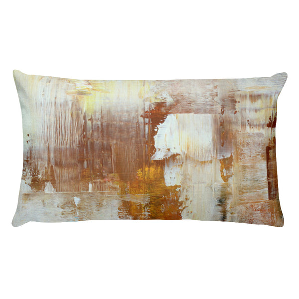 Honey Brown - Lumbar Pillow - The Modern Home Co. by Liz Moran