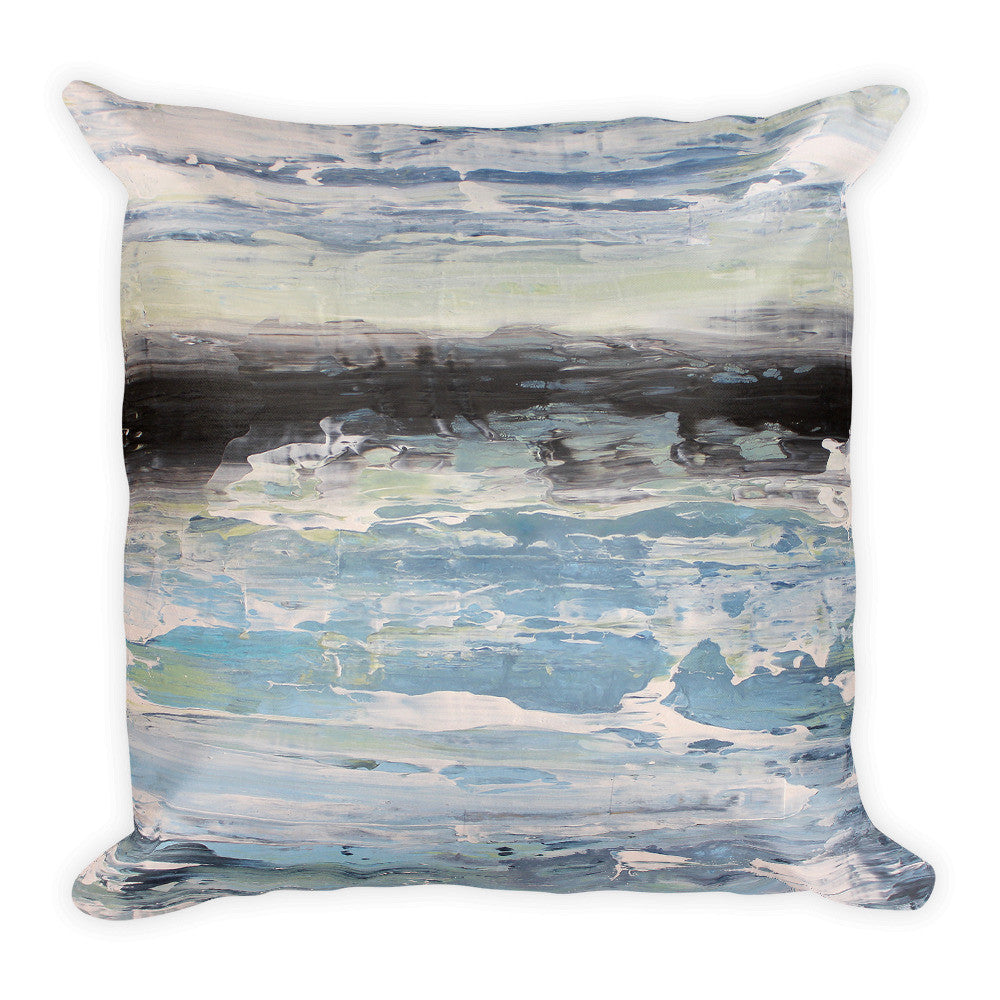 Coastal Throw Pillow - The Modern Home Co. by Liz Moran