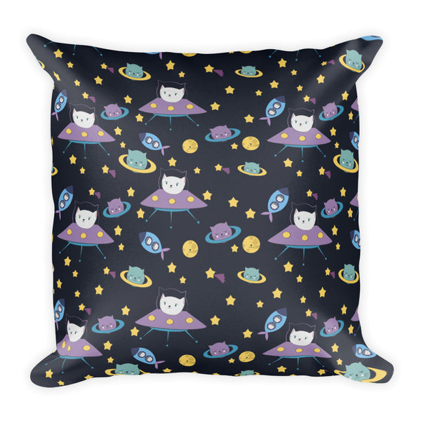 UFO Cats Pillow - The Modern Home Co. by Liz Moran
