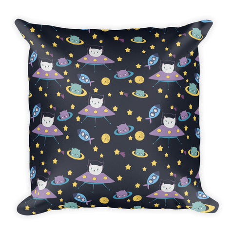 UFO Cats Pillow