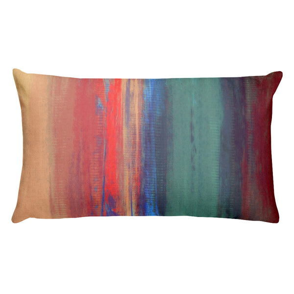 Afternoon Sky - Lumbar Pillow - The Modern Home Co. by Liz Moran