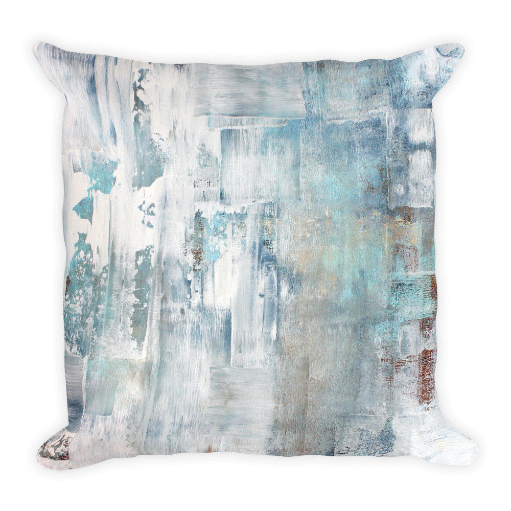 Frost - Modern Square Pillow - The Modern Home Co. by Liz Moran