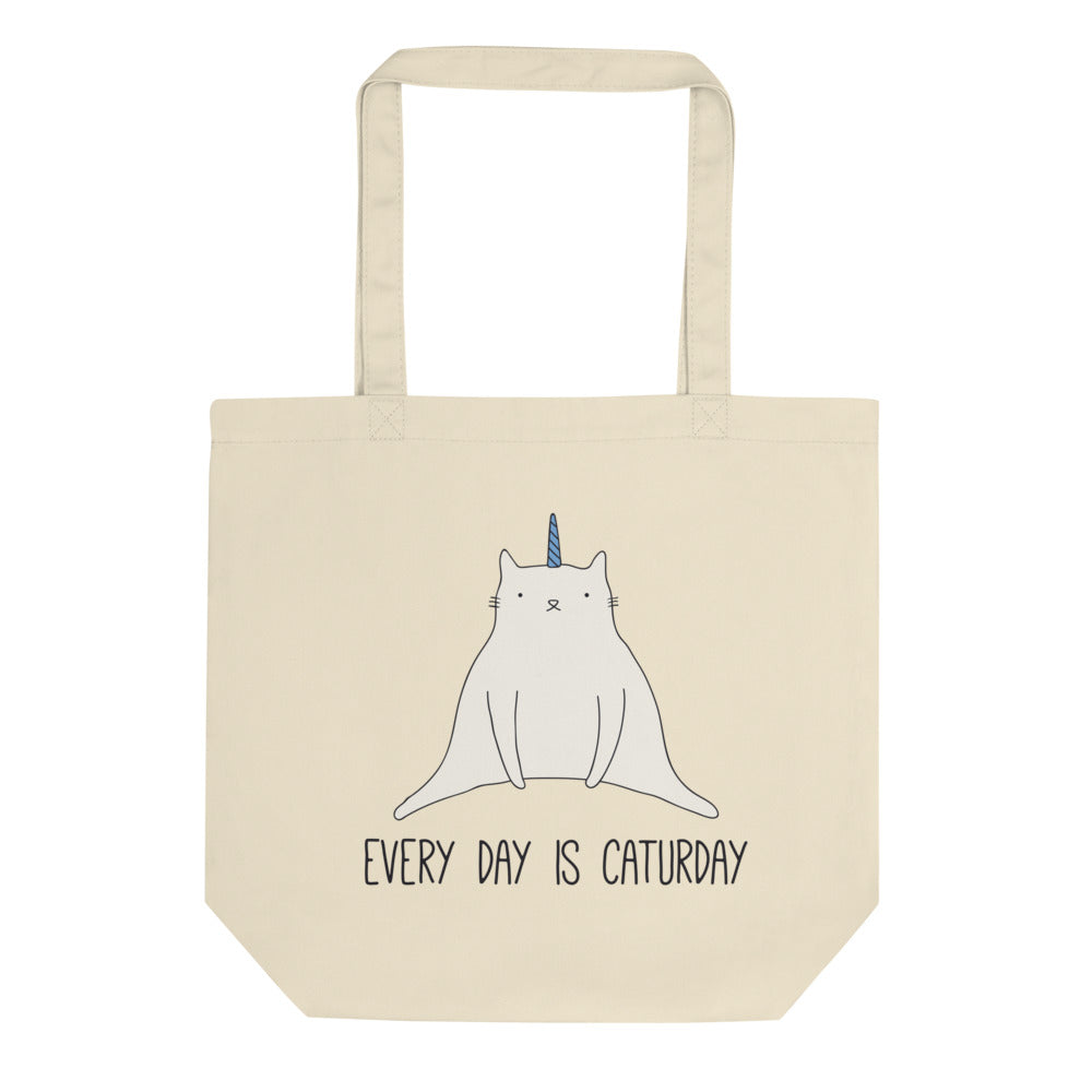 Caturday - Eco Tote Bag - The Modern Home Co. by Liz Moran