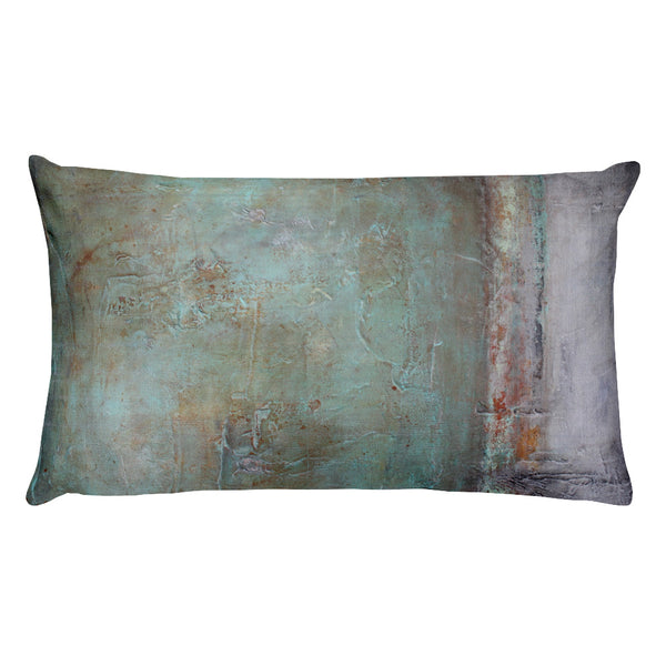 Memories Forgotten - Lumbar Pillow - The Modern Home Co. by Liz Moran