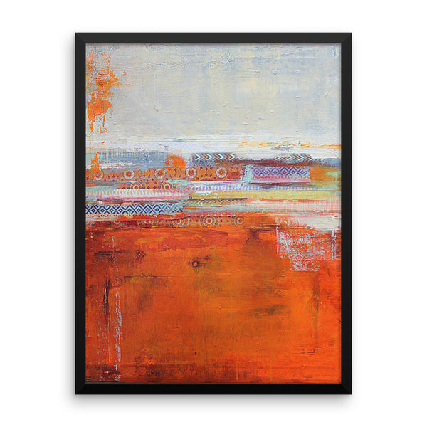 Santa Fe Vibes - Framed Art Print - The Modern Home Co. by Liz Moran
