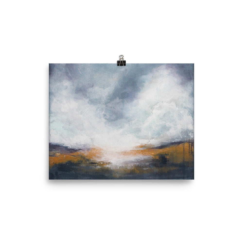 Morning Mist - Poster Print - The Modern Home Co. by Liz Moran