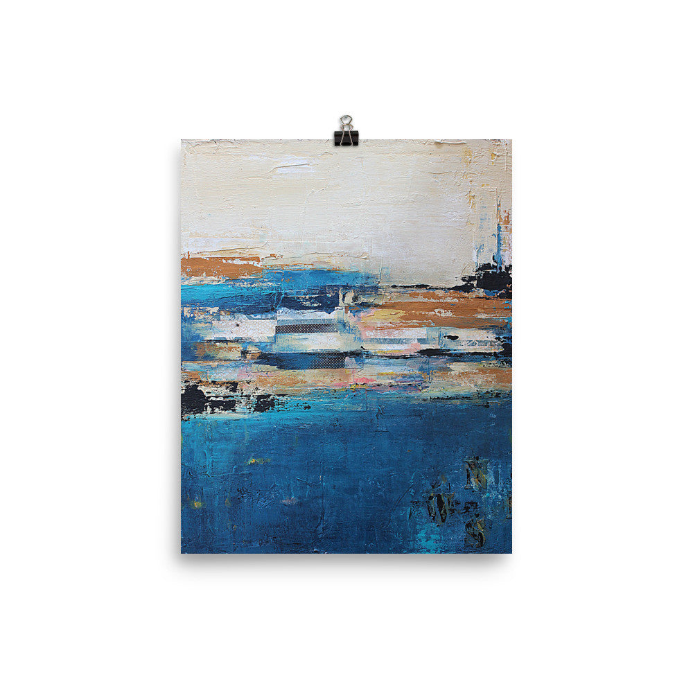 Nautical Impressions - Coastal Poster Print - The Modern Home Co. by Liz Moran