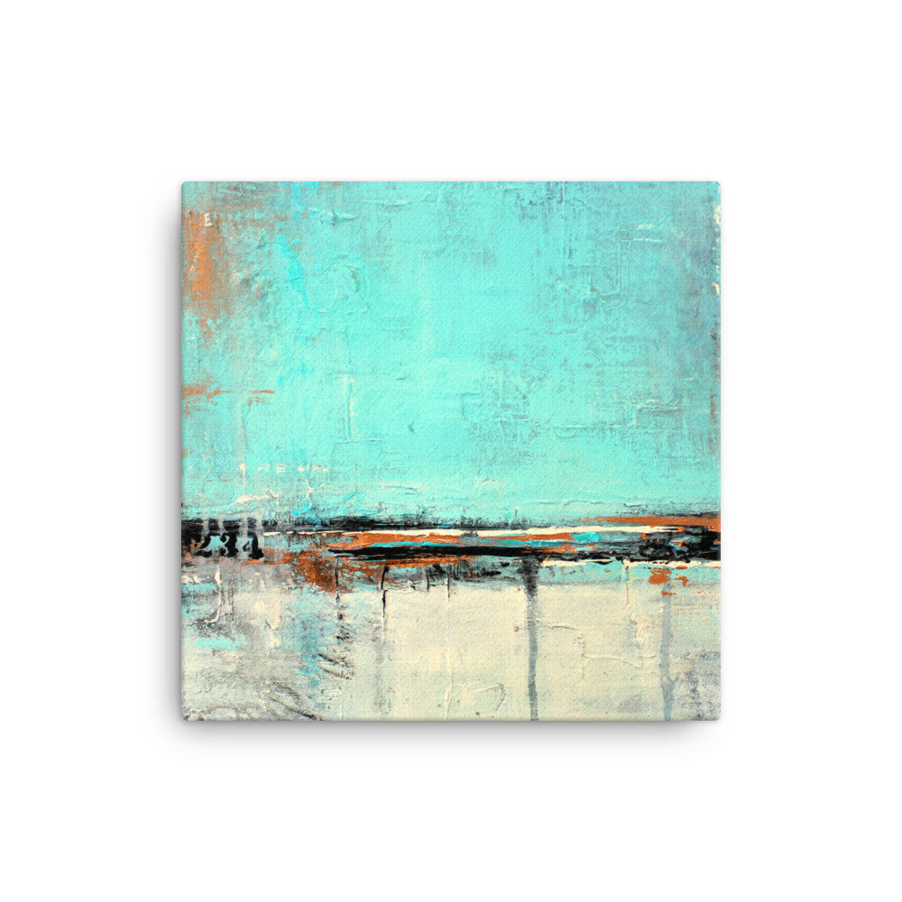 Green and White Canvas Art - The Modern Home Co. by Liz Moran
