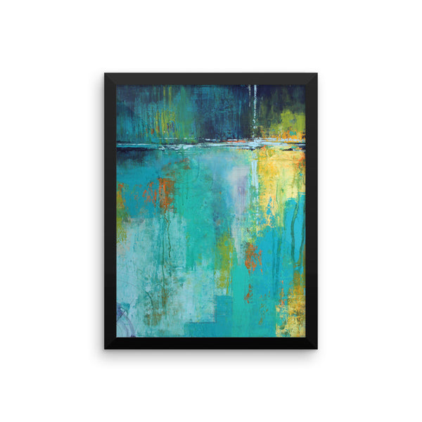 Tranquil Nights - Framed Art Print