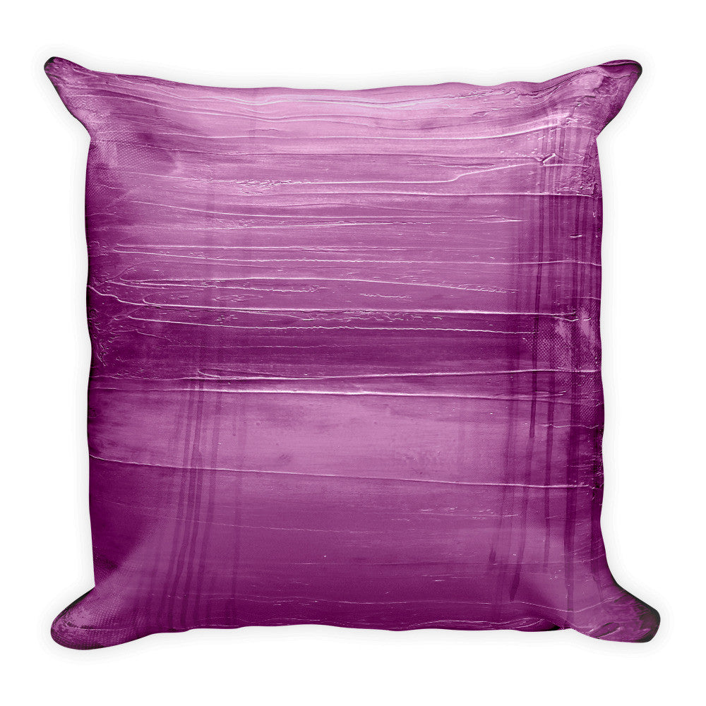 Modern Purple Throw Pillow