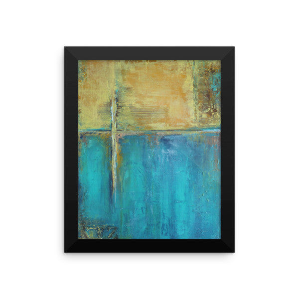 Caribbean Cargo - Framed Poster Print - The Modern Home Co. by Liz Moran