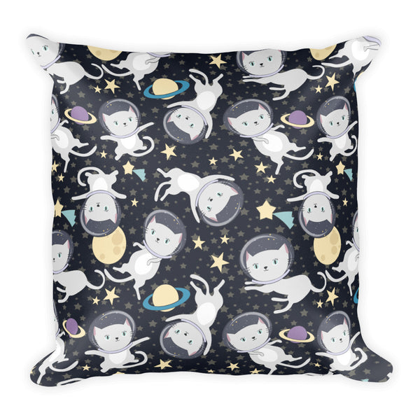 Space Cats Pillow - The Modern Home Co. by Liz Moran