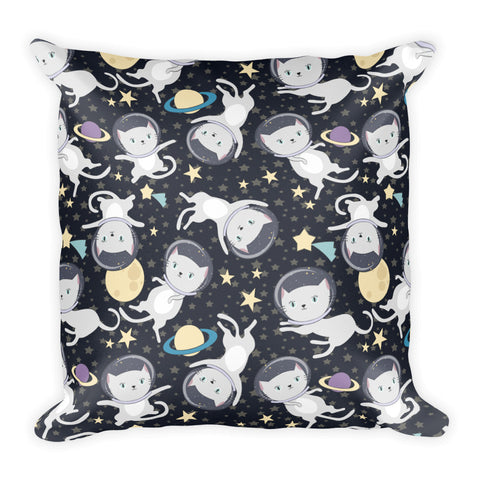 Space Cats Pillow
