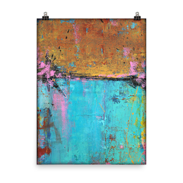 Montego Bay - Poster Print - The Modern Home Co. by Liz Moran