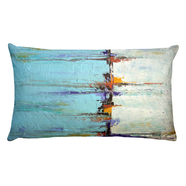 Sailing - Lumbar Pillow - The Modern Home Co. by Liz Moran