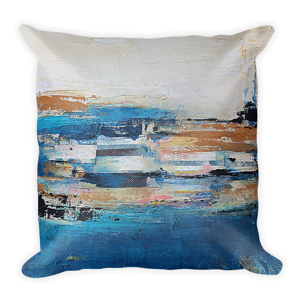 Nautical Impressions - Coastal Throw Pillow - The Modern Home Co. by Liz Moran
