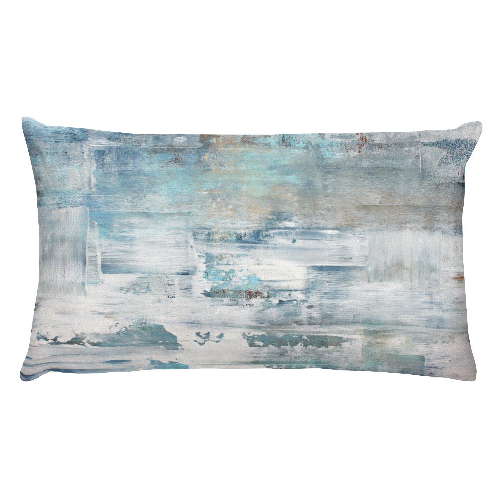 Frost - Lumbar Pillow - The Modern Home Co. by Liz Moran