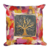 Autumn Tree Throw Pillow - The Modern Home Co. by Liz Moran