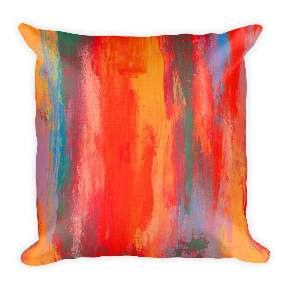 Bright Throw Pillow
