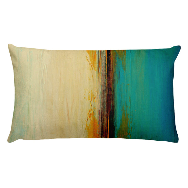 Horizon - Lumbar Pillow - The Modern Home Co. by Liz Moran