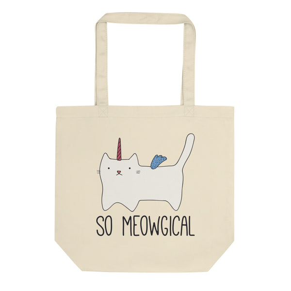 Meowgical - Eco Tote Bag - The Modern Home Co. by Liz Moran