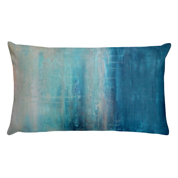 Raindrops - Lumbar Pillow - The Modern Home Co. by Liz Moran