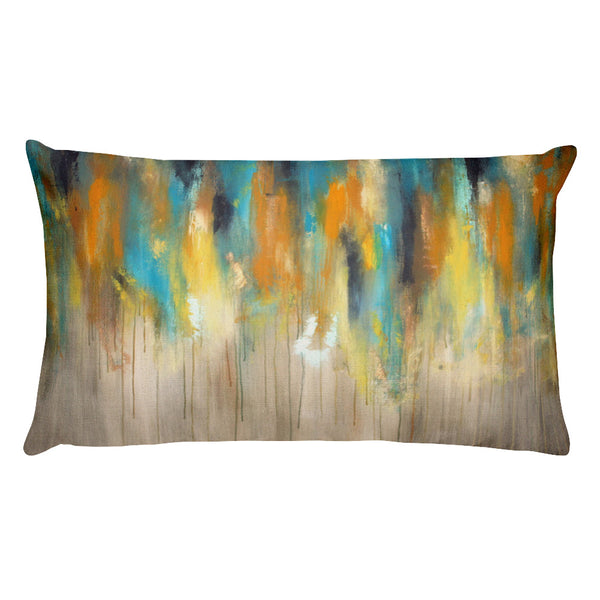 Rainy Day - Lumbar Pillow - The Modern Home Co. by Liz Moran