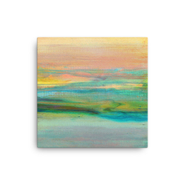 Minimalist Art - Canvas Print - Abstract Sky and Clouds
