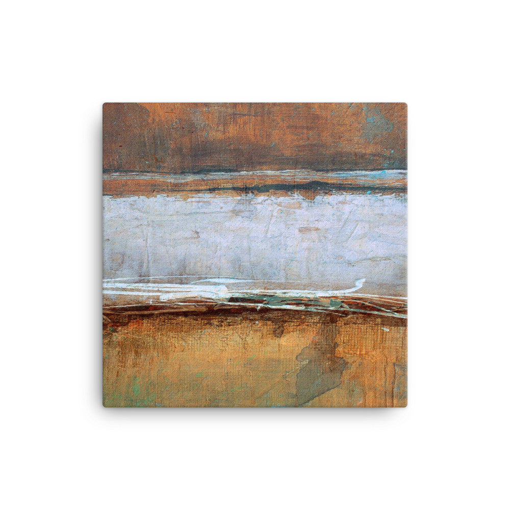 Metal Layers Canvas Print - The Modern Home Co. by Liz Moran